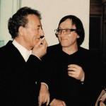 Михаил Шемякин с Юрием Темиркановым