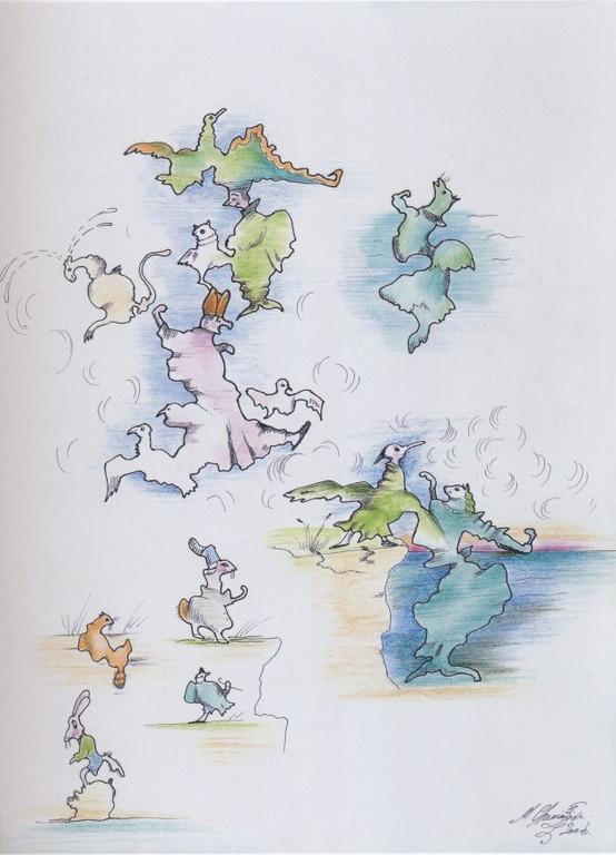 рисунки капель: