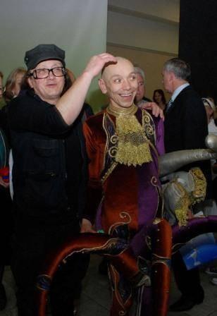 Со знаменитым клоуном А.Либабовым