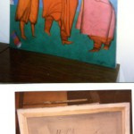Подделка  Fake 114,3 x 89 cm