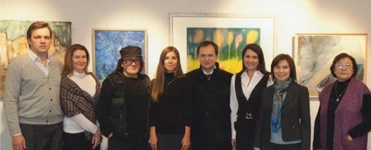 Министр культуры РФ Владимир Мединский посетил Фонд художника Михаила Шемякина.