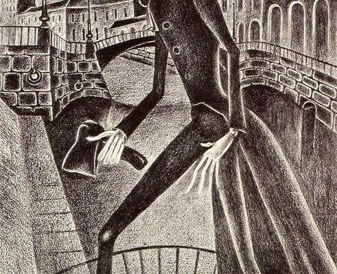 Шемякин. Сон Раскольникова. 1964